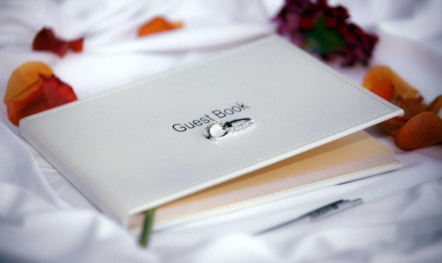 Livre d'or pour mariage et son utilité